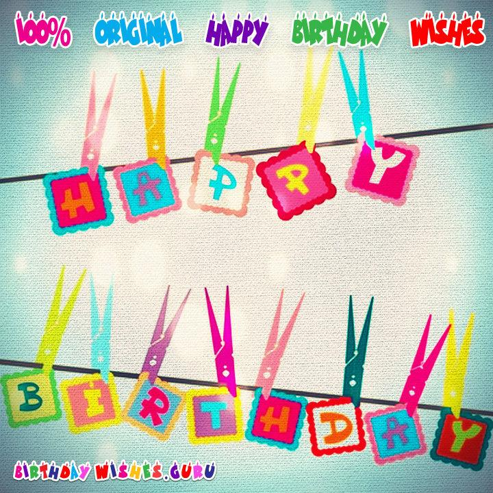Amazing birthday wishes to send to your friends family and loved ones unique birthday wishes m4hsunfo