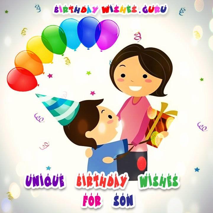 Son birthday wishes