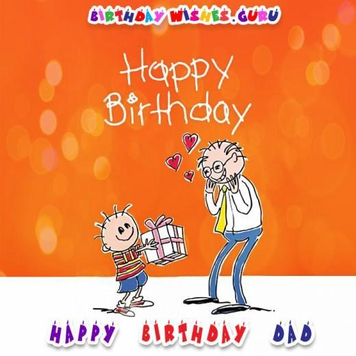 Original Birthday Wishes for your Father - Happy Birthday Dad
