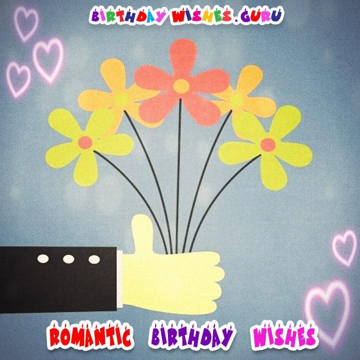 Romantic Sweet Love Birthday Wishes