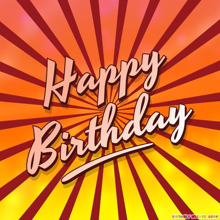 Happy birthday for my friend