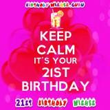 21st Birthday Wishes and Greeting Card Messages