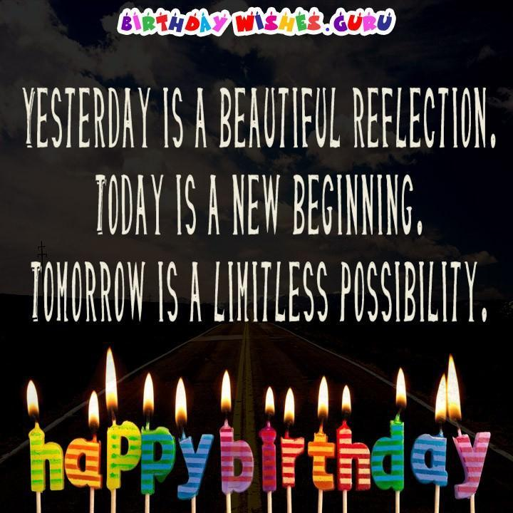 Inspirational Birthday Quotes And Wishes