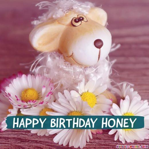 Happy Birthday Honey!