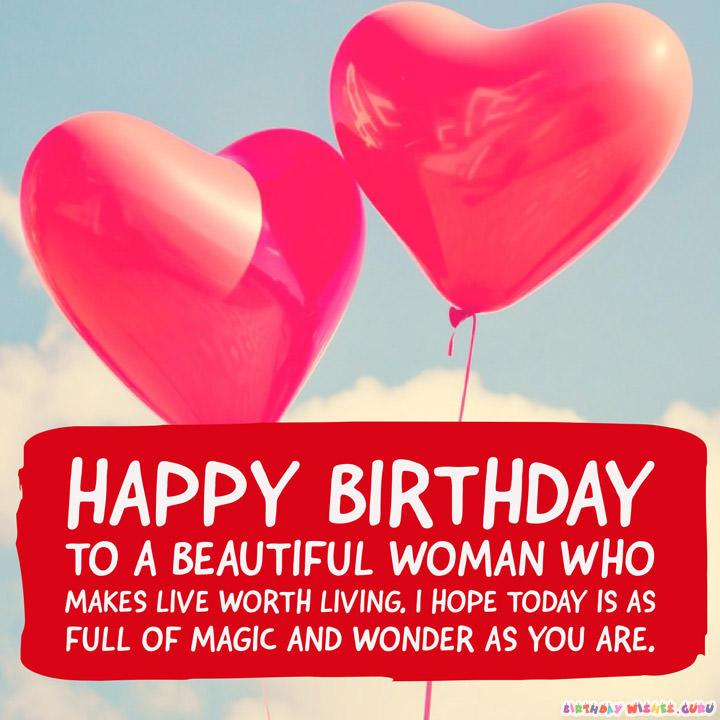 Cute Birthday Wishes and Adorable Images for your Wife – Happy Birthday Greeting for Wife