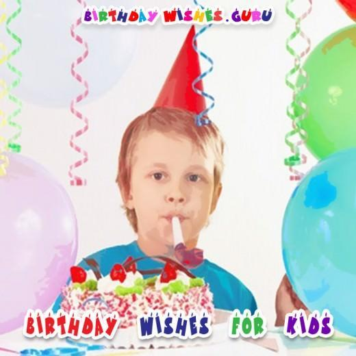 Birthday wishes kids