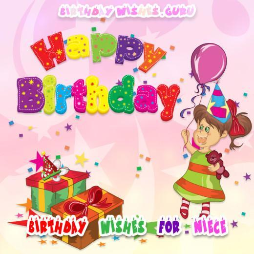 Birthday wishes niece image