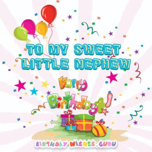 Birthday Wishes For Nephew Lovable Boys Without The Responsibility