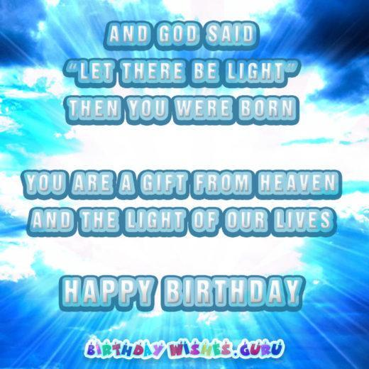 May God fill your life with infinite happy moments. Happy Birthday!