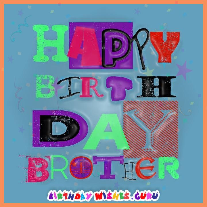 Birthday Wishes For BrotherCute Cards And Happy Messages