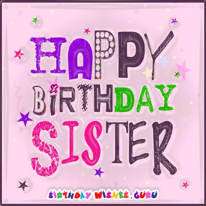 forty birthday wishes for my sister