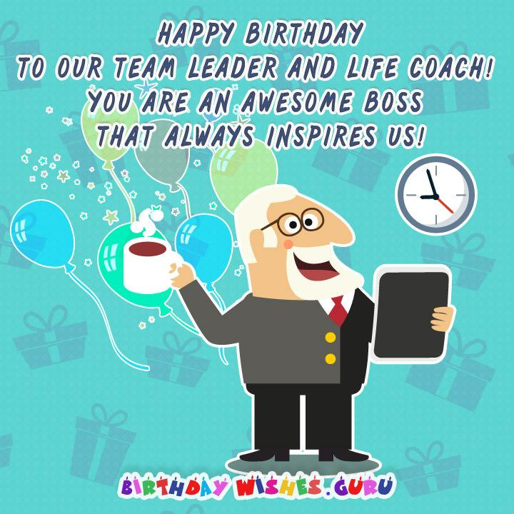 Awesome Things To Buy >> Birthday Wishes for Boss