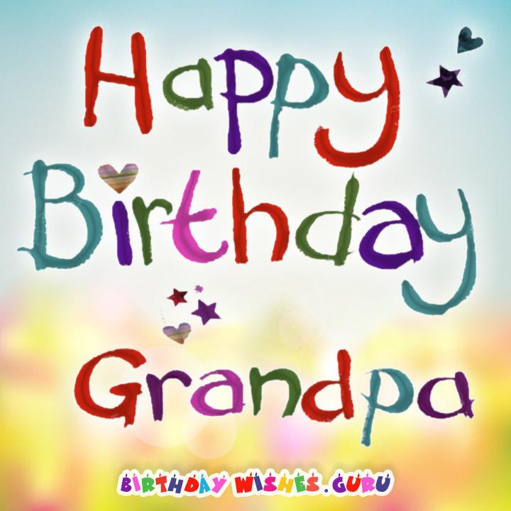 happy birthday wishes for the best grandpa