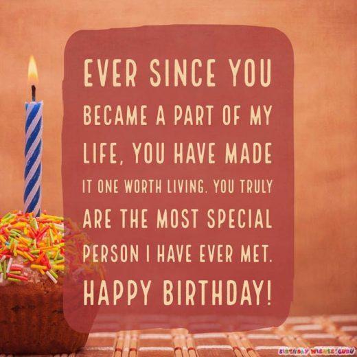 Sincere Birthday Wishes