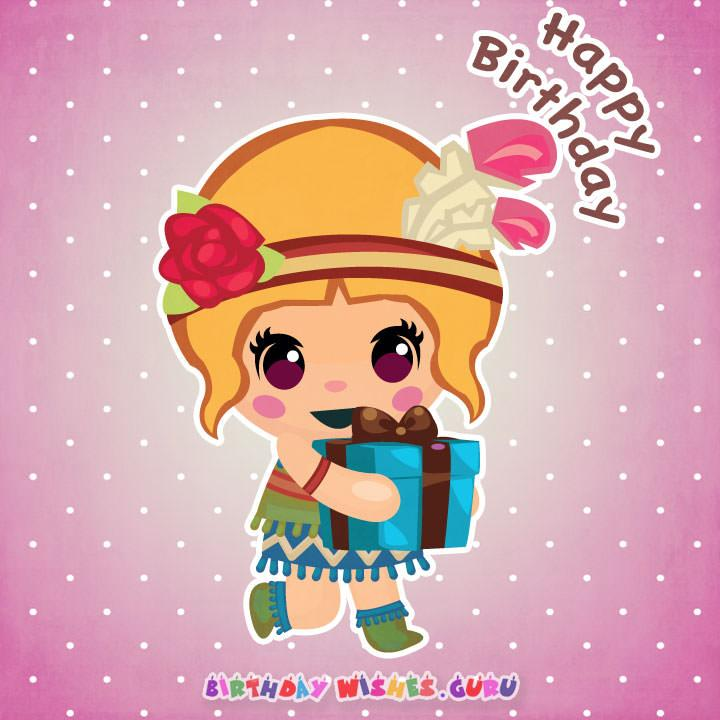Awesome 20 Cute Birthday Wishes For Baby Girl By Birthday Wishes Guru Birthday Cards Printable Giouspongecafe Filternl