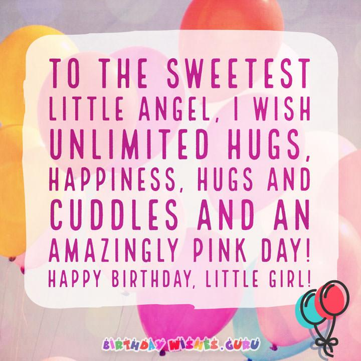 Sweetest little angel happy birthday